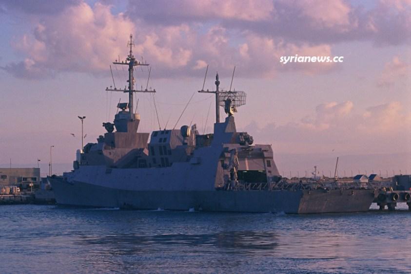 Israel INS Hanit Sa'ar 5-class corvette navy ship - ساعر 5 سفينة حربية اسرائيلية