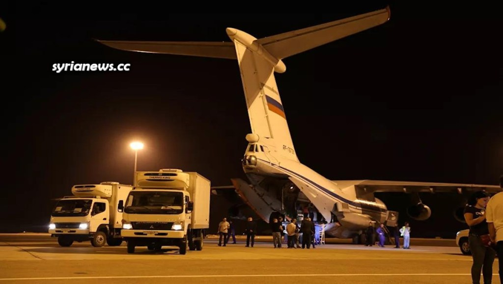 Russia Delegates Arrive in Syria, Bring 160 Tons of Humanitarian Aid