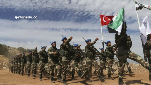 Syrian terrorists loyal to Erdogan in northern Syria Muslim Brotherhood - Al Qaeda