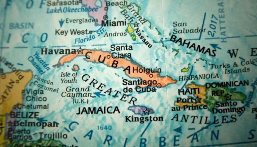 Cuba is close to Florida but is not part of the US