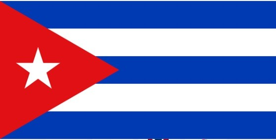 The flag of the Republic of Cuba.