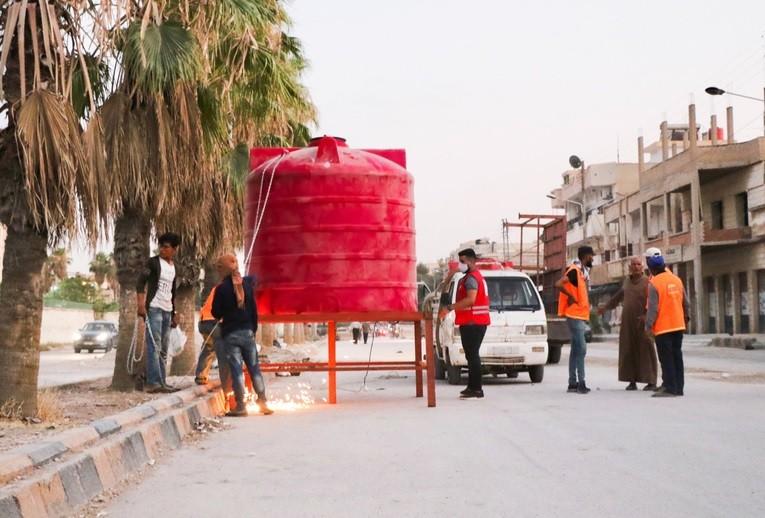 UNSC P3 ignore Turkey's water war crimes against Syria.