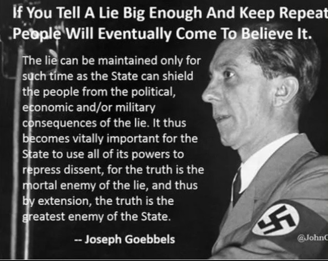 Some media sound like Goebbels in Big Lies against ivermectin