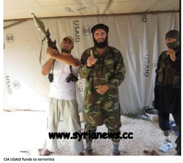 CIAID to al Qaeda not Taliban in Syria.