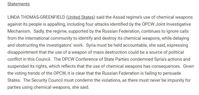 UNSCR member US oblivious to US crimes at home and abroad.