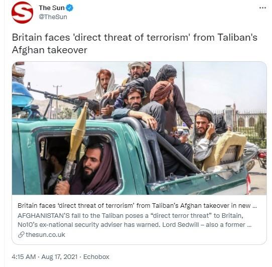 Armed Taliban in Afghanistan.