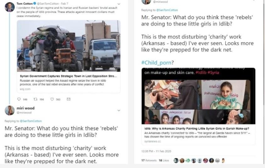 Arkansas senator hates the Taliban but loves terrorists in Syria.