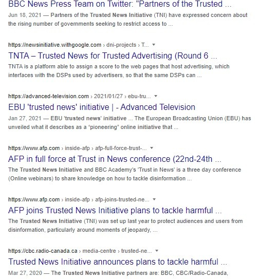 Trusted News Initiative hates ivermectin.
