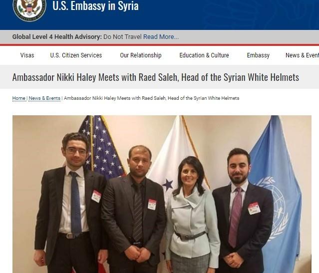 UNSC Goebbels gang has treated the al Qaeda Helmets to the UN.