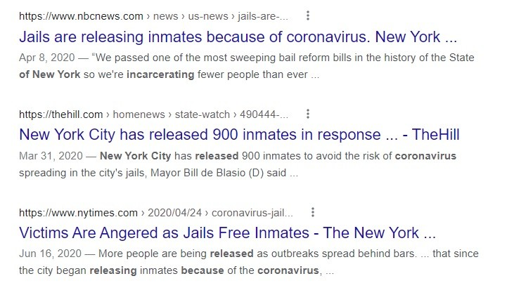 de Blasio whined about 'recidivism' among criminals released from jails, at presser.