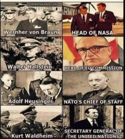 Dulles Rat Lines got Nazis into NASA, EU, and the UNSC.