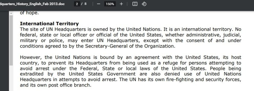 Reality check for de Blasio, NATO operatives in the UN, and MSM.