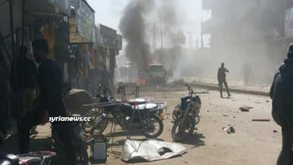 Car explosion in Afrin kills 5 people - terrorist explosions