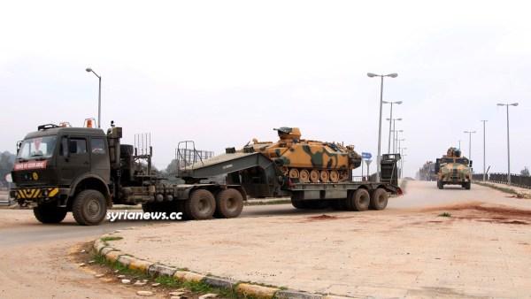 Erdogan beefs up Turkish forces to protect Al Qaeda in Idlib