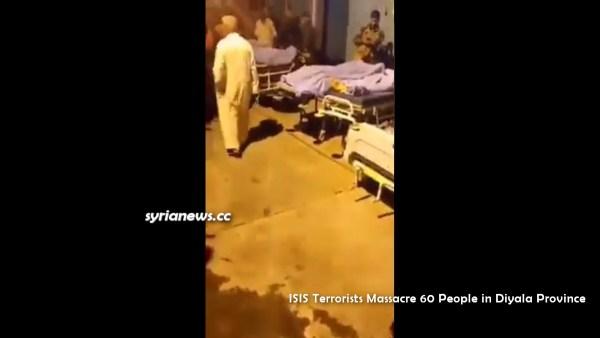 Iraq: US-sponsored ISIS Terrorists Massacre 60 People in Diyala Province