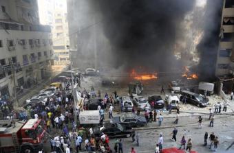 Beirut Lebanon 27 December 2013 Terrorist Attack-3
