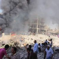 Terrorist attack on al-Qameshli city, in Hasaka province: 44 civilian killed, 140 injured