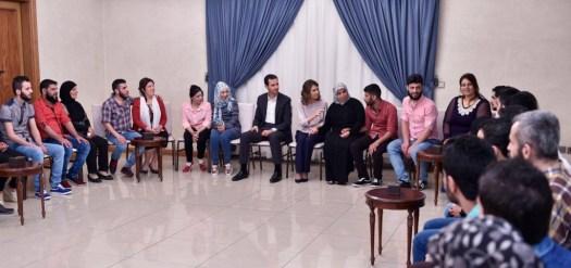 Bashar al-Assad received 34 abducted-6 [1024x768]