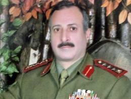 Le général Ahmed Tlass