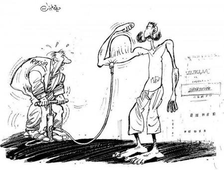 Le régime de Bachar al-Assad regonflé par les Russes (Ali Farzat)