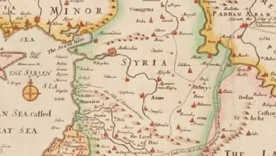 خارطة لـ سورية عام1526م