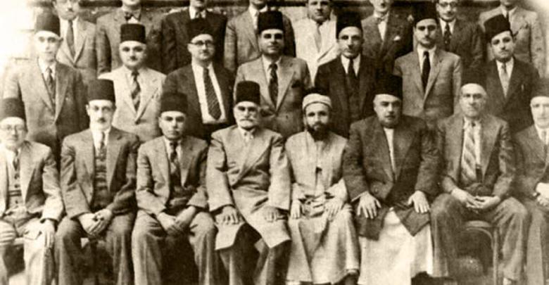 أعضاء جمعية المواساة عام 1944