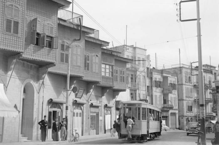 الترامواي الكهربائي في شوارع حلب خمسينات القرن العشرين