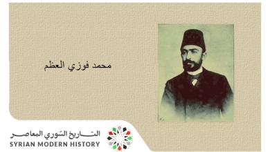 محمد فوزي العظم