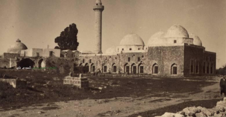 جبلة 1930 - مسجد السلطان ابراهيم