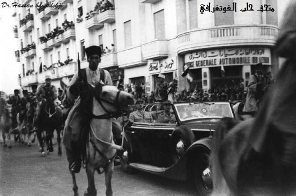 موكب ديغولفي حلب 1942م