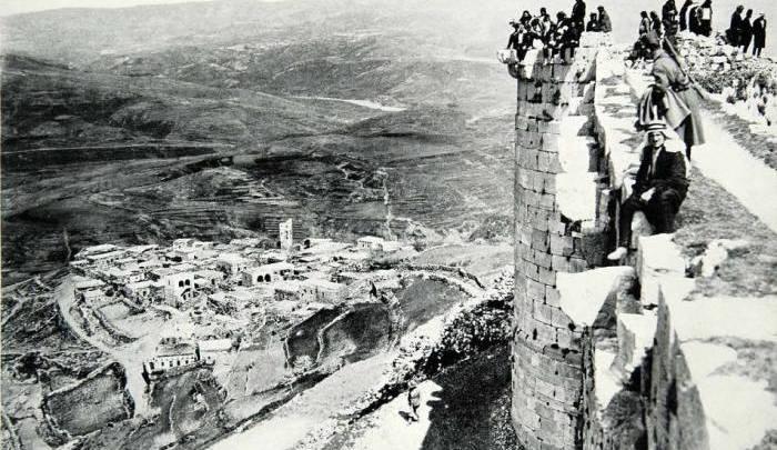 قلعة الحصن 1933
