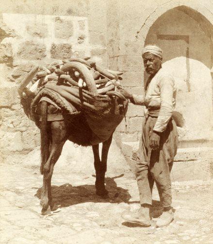 بائع خيار في دمشق 1910