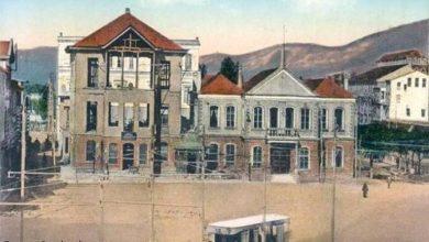 مبنى دار البلدية ومبنى طبابة المركز قيد الإنجاز بساحة الشهداء -المرجة