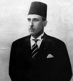 Präsident Shukri al-Quwatli