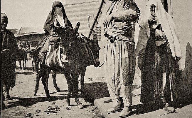 1899- Drusisches Paar in Damaskus
