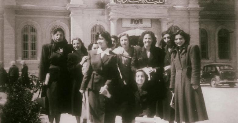 دمشق- طالبات في جامعة دمشق في الستينيات