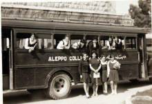 حلب 1945- طالبات معهد حلب العلمي