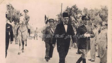 نائبُ محافظ اللاذقـيَّة القاضي (رشيد حميدان) وقائد الدرك