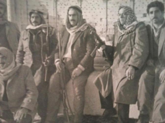 تدمر 1963- بهاء الدين الخوجة مع مجموعة من رجال المباحث