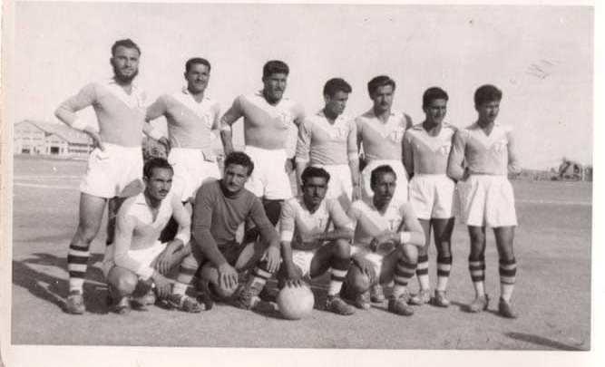 فريق محطة النفط الثانية في دير الزور 1959