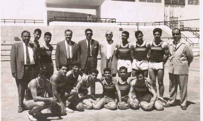 منتخب مدارس سورية بكرة اليد 1961 م