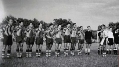 فريق الجيش السوري في بودابيست عام 1958