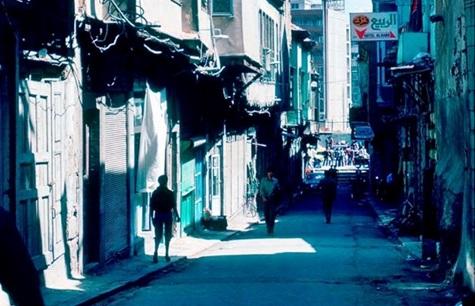 دمشق 1983 - سوق ساروجة  - جوزة الحدبا