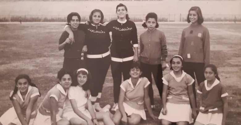 فتيات من الرقة مشاركات في فعاليات نادي الرشيد بالرقة عام 1963 (2)