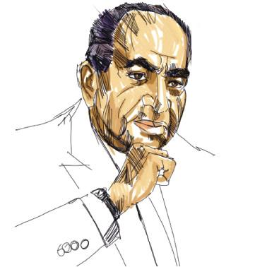 عبد السلام العجيلي حكواتي من الفرات