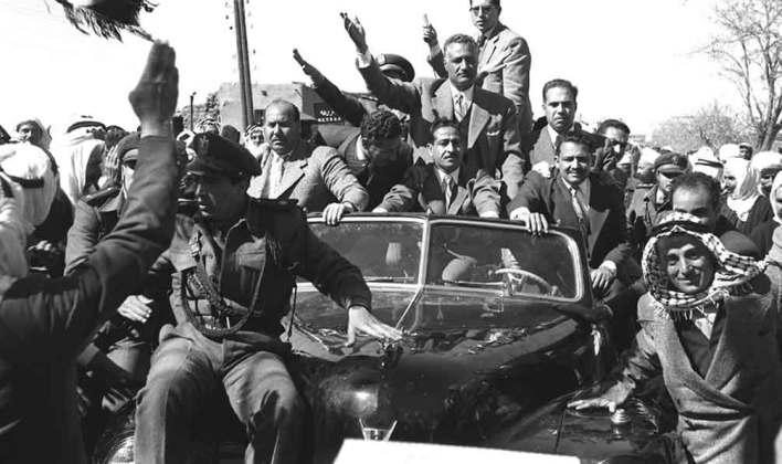 جمال عبد الناصر في السويداء بمناسبة العيد الثانى للوحدة عام 1960م (3)