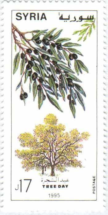 طوابع سورية 1996 – عيد الشجرة