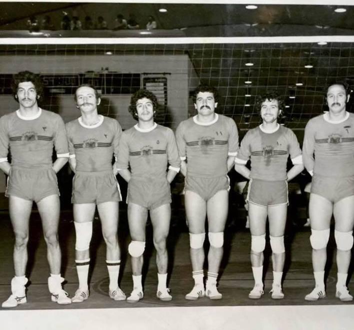 الرياض 1977- منتخب سورية بالكرة الطائرة في بطولة العرب