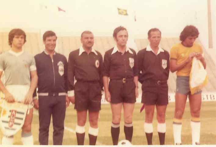 فاروق بوظو في الدور قبل النهائي لبطولة كأس العالم للشباب في تونس عام 1977