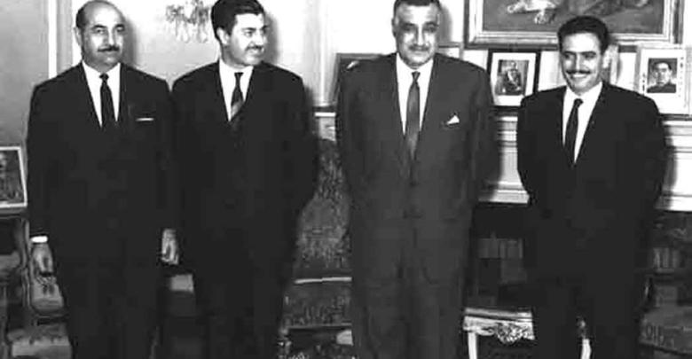 جمال عبد الناصر يستقبل إبراهيم ماخوس - حزيران 1966 (6)